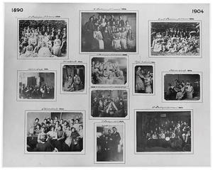 Klassenfoto's van de Haagse Academie van Beeldende Kunsten