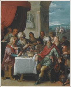 Het feestmaal aangericht voor de Verloren Zoon na zijn terugkeer