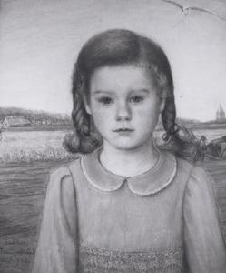 Portret van Alexandra Herculine Fabius (1935- )