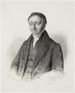 Portret van Gijsbert Waller (1787-1850)