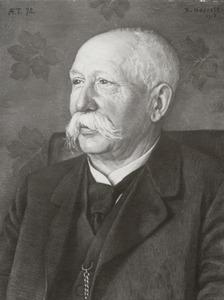Portret van Herman Johan Reesink (1844-1930)