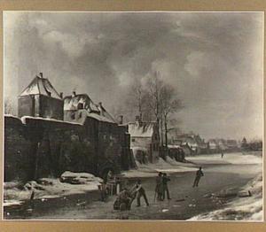 Stadswal met de Plompetoren te Utrecht