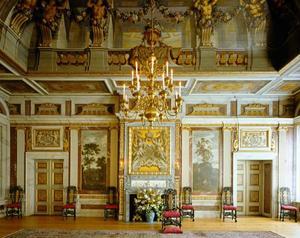 Decoratieschema audiëntiezaal Paleis Het Loo