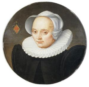 Portret van Anna van Oudewater (-1635)