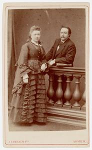 Portret van H. Wunder en P. Rijser