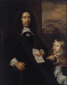 Dubbelportret van Albert van Nierop (1600-1676) en zijn kleinzoon Albert Schas (1656-1719)