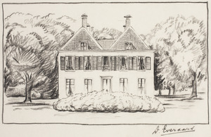 Landhuis De Eult bij Baarn
