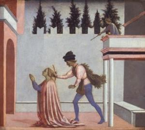 Martelaarschap van Heilige Lucia