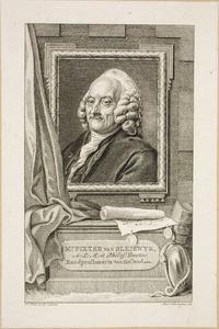 Portret van Pieter van Bleiswijk (1724-1790)