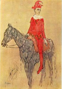 Harlekijn te paard