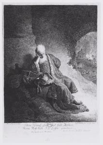 Jeremia treurend over de verwoesting van Jeruzalem (Jeremia 37)