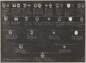 Kwartierstaat van Gerrit Pietersz. Schaap (1599-1655) van moederdszijde