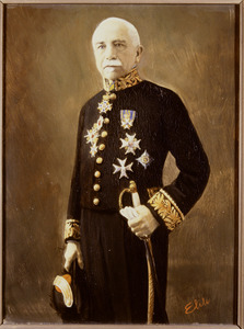 Portret van Pieter Anthonij Johan van den Brandeler (1857-1943)