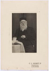 Portret van Maurits Albrecht Gooszen (1837-1916)