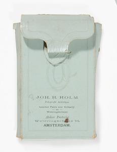 doosje met zeven portretten van Nicolaas van Rijnberk (1845-1929)