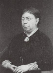 Portret van Johanna Christina Maria Elisabeth Stoetz (1829-1897)