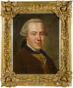 Portret van Christiaan Frederik Anton Willem Carel Bentinck (1734-1768)