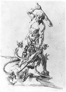 Hercules en de Hydra van Lerna