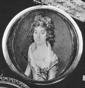 Portret van Elisabeth Geertruy Scheltus (1767-1822)
