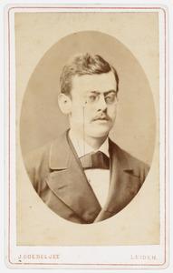 Portret van Cornelis Bastiaan Nederburgh (1858-1943)