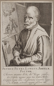 Portret van Pieter Pietersz. (1540/1541-1603)