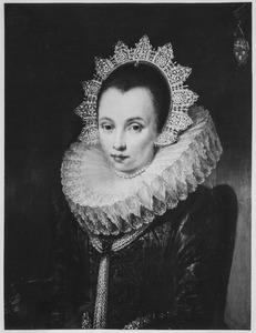Portret van een vrouw, geïdentificeerd als Adriana Heerman (?-1664)