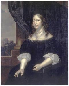 Portret van een vrouw, waarschijnlijk Cecilia Elisabeth Tamminga (1652-1718)