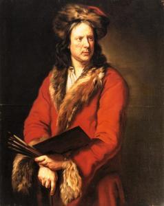 Zelfportret van Theodor Roos (1638-1687)
