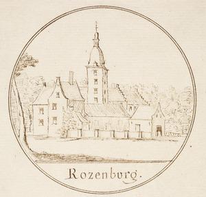 Kasteel Rozenburg in Voorschoten