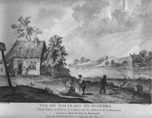 Vue de Maltraot en Flandre