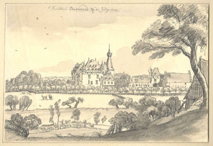 Landschap met kasteel Doorwerth
