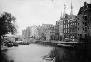 Gezicht op de Korte Prinsengracht vanaf de Brouwersgracht