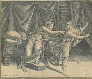 Jozef en de vrouw van Potifar (Genesis 39:7)