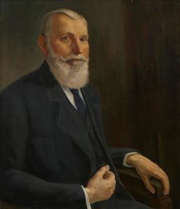 Portret van Johann Heinrich ('Hendrik') Lüps (1855-1926)