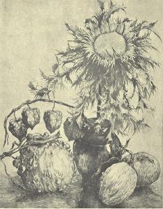 Distel en pompoenen