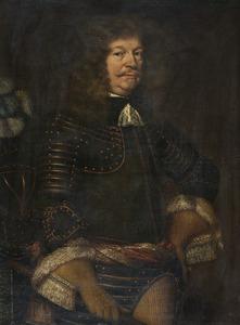 Portret van een man in wapenrusting