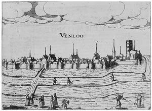 Gezicht op Venlo