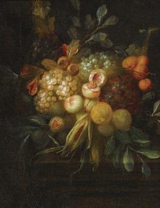 Festoen van vruchten