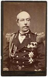 Portret van Hendrikus Octavius Wichers (1831-1889)