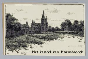 Het kasteel te Hoensbroek
