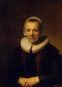 Portret van Baertje Martens (....-1678)
