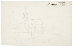 De kerk van Reeuwijk