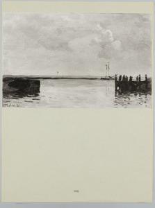 Ingang van de haven van Enkhuizen
