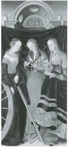 De HH. Catharina, Margaretha en Barbara