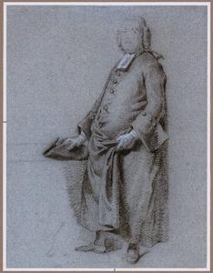 Portret van Ds Petrus Blieck (?-1797)