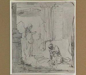 De engel verkondigt aan Zacharias de geboorte van Johannes de Doper (Lucas 1:5-25)
