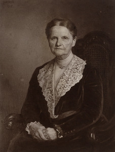 Portret van Anna Margaretha Frederika van Heerdt (1849-1935)