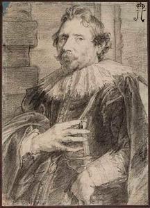 Portret van de schilder en architect Deodat van der Mont (1582-1644)
