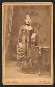 Portret van Johanna Georgina Dunnewold (1866-1944)