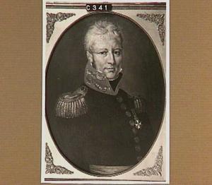Portret van Cornelis Paulus Hoynck van Papendrecht (1768-1837)
